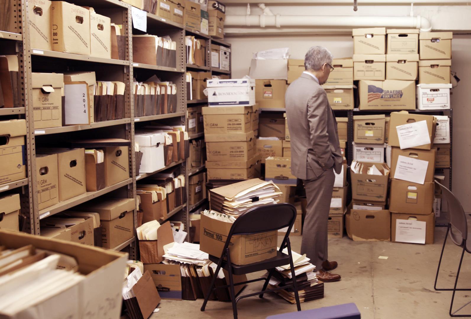 Larry Krasner File Boxes